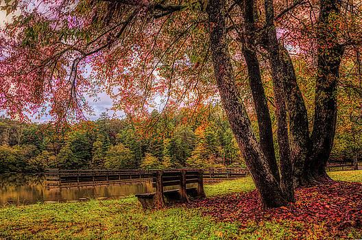 Debra and Dave Vanderlaan - Autumn Time Mood Oil Painting