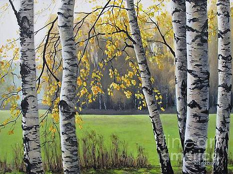 Autumn tranquility by Anna Starkova