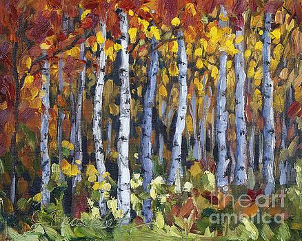 Autumn Trees by Jennifer Beaudet