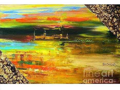 Autumn Twilight Of The Castle Coburg by Nelu Gradeanu
