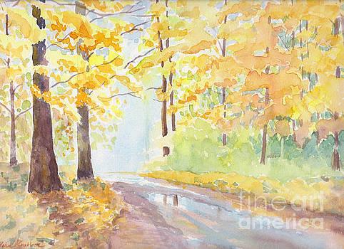 Autumn walk by Yohana Knobloch