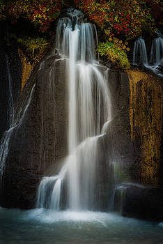 Autumn Waterfall by Chris McKenna