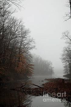 Autumn Waterway by Waverley Manson