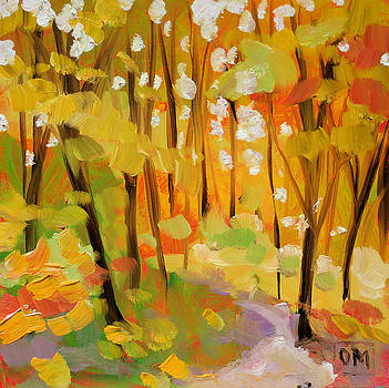 Autumn Woods by Debbie Miller
