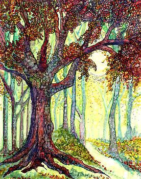 Autumn Woods by Elaine Hodges