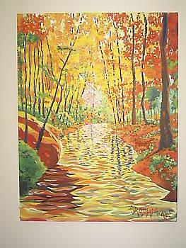 Autumn's Creek by Ronald Graham