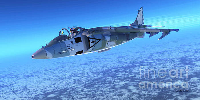 Corey Ford - AV-8B Harrier ll Fighter Jet