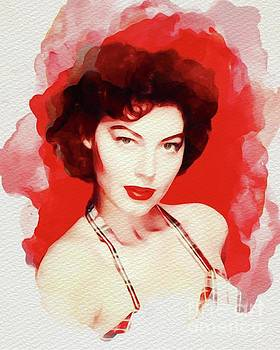 John Springfield - Ava Gardner, Vintage Movie Star