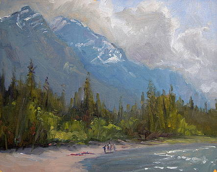Avalanche Sunbathing by Jeff Troupe