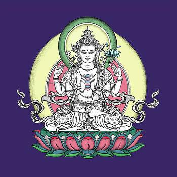 Avalokiteshvara by Carmen Mensink