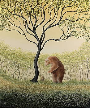 Avanaco, Leaning bear by Raphael Seygnovert