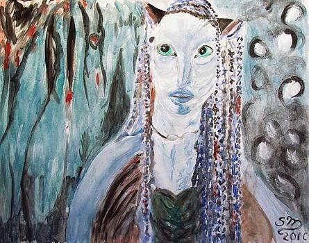 Stanley Morganstein - Avatar Portrait of Alien Woman