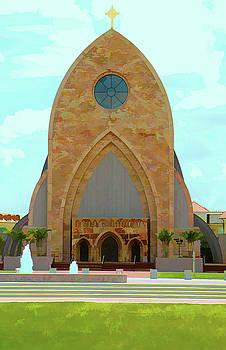 Ave Maria Church Painted by Rosalie Scanlon