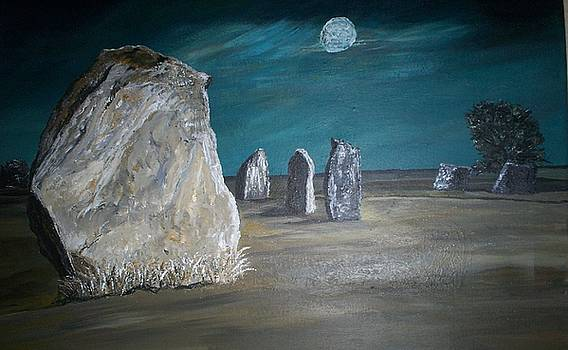 Avebury Stone Circle by Tracey Mitchell