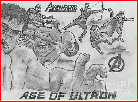 Avengers Age of Ultron by Chris  DelVecchio
