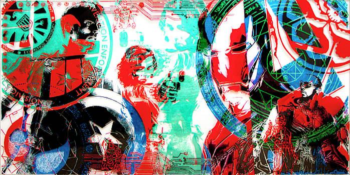 Avengers by Frank Kreacic