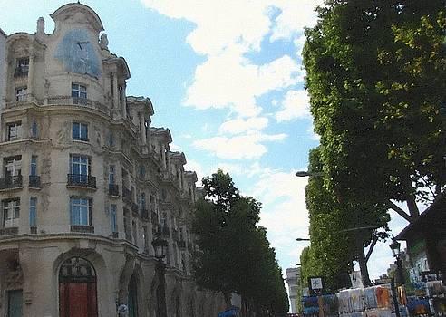 Avenue of Paris by Subesh Gupta