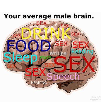 Larry Lamb - Average Male Brain