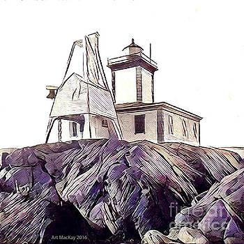Art MacKay - Avery Rock Light, Machiasport, ME