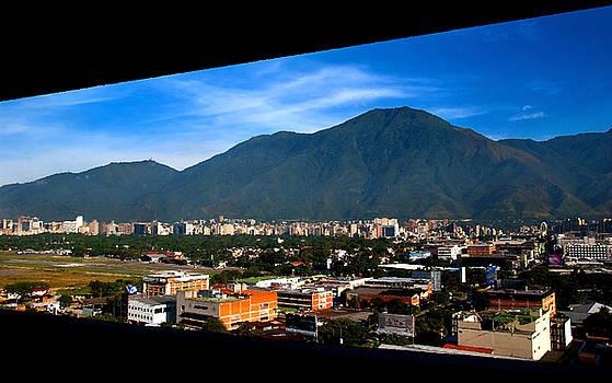 Avila from window by Bibi Rojas