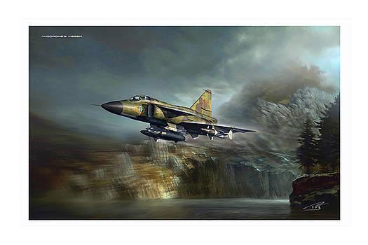 Aviodromes Viggen by Peter Van Stigt