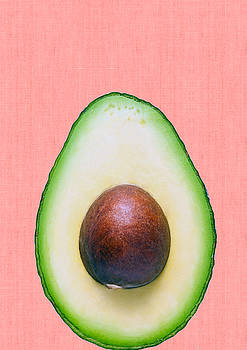 Avocado and pink by Vitor Costa