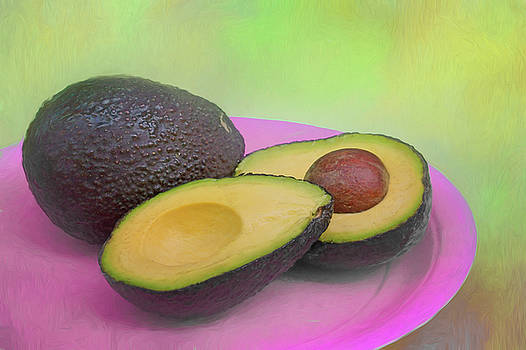 Nikolyn McDonald - Avocado on Pink