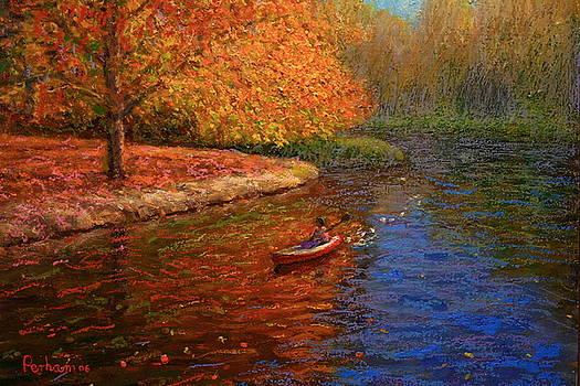 Terry Perham - Avon In Autumn