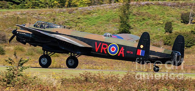 Avro Lancaster Bomber - Vera by Robert McAlpine