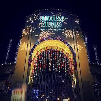 Universal Studios During Christmas by Nicole Alvarez