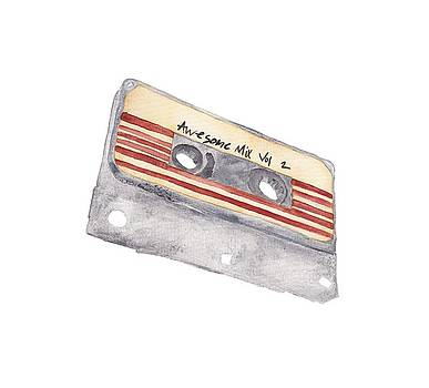 Awesome Mix Tape by Tamara Elliott