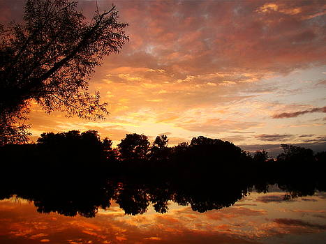 Awesome Sunset by J R Seymour