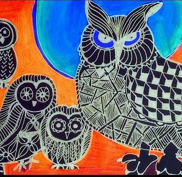 Awls are cool by Sandra Lira