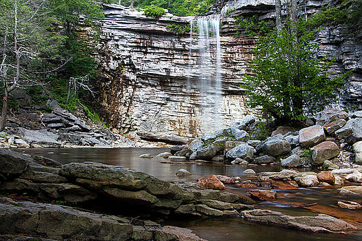 Awosting Falls in July I by Jeff Severson