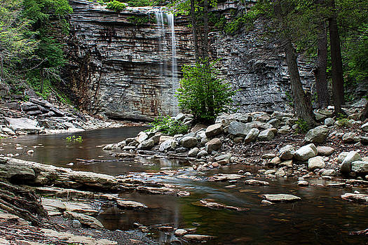 Awosting Falls in Spring #1 by Jeff Severson