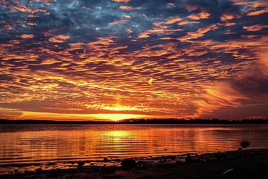 Awsome Sunset by Doug Long