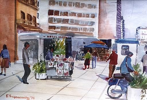 Ayhens street by George Siaba
