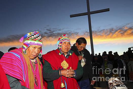James Brunker - Aymara New Year Celebrations