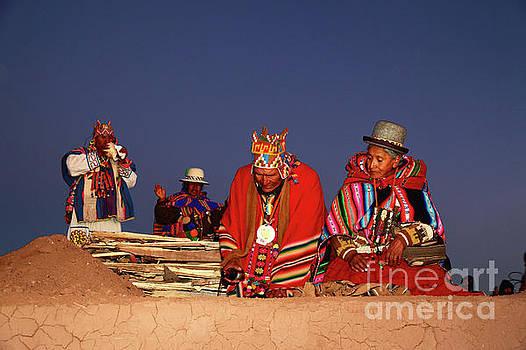 James Brunker - Aymara New Year Ceremonies Bolivia