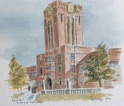 Ayres Hall, University of Tennessee by Jim Stovall