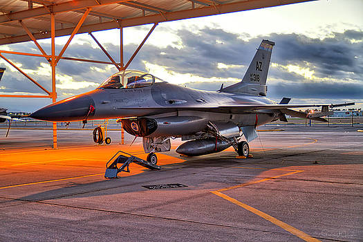 Az Ang F-16c by Gregory Johnson