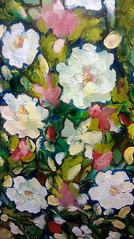 Patricia Taylor - Azaleas and Roses Together