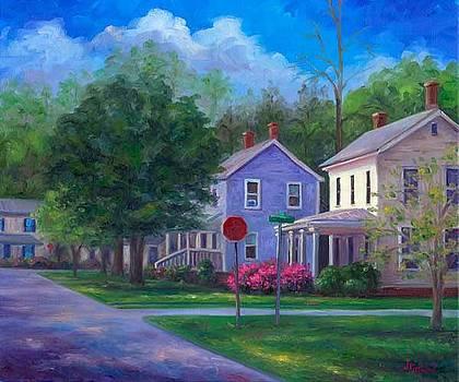 Azaleas on Broad Street by Jeff Pittman