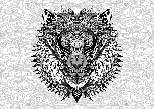 Aztec Lion by Three Second