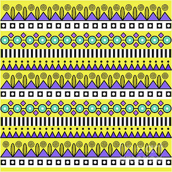 Aztec Pattern by Alex and Pens