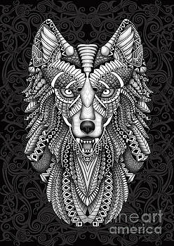 Aztec Wolf by Three Second