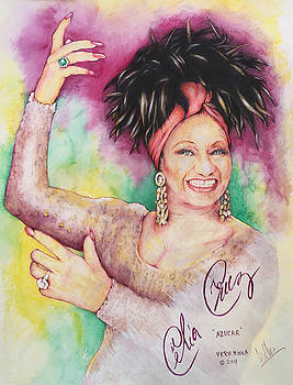Azucar Celia Cruz by Victor Minca