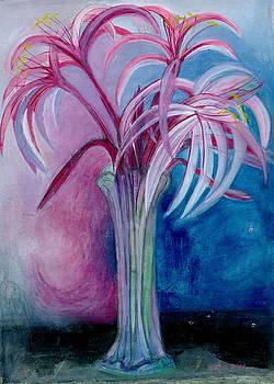 Lydia L Kramer - Azucar y Canela Lilies Stilllife