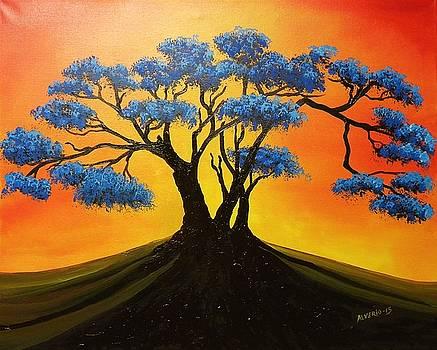 Azul by Edwin Alverio