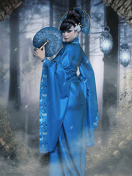 Azure Empress by Rachel Dudley